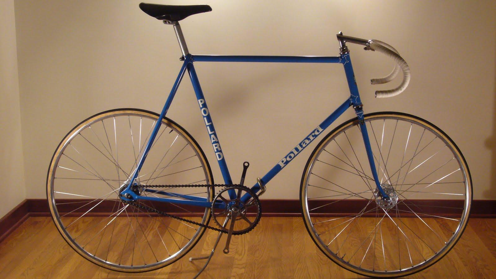 Bicycle track vintage has